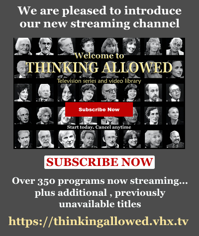 Welcome to Thinking Allowed's Streaming Channel